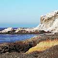 The White Rocks Of Piedras Blancas by Art Block Collections