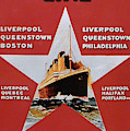 White Star Line Poster 2 by Richard Reeve