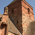 Whitekirk 12th Century Church Tower In East Lothian by Victor Lord Denovan