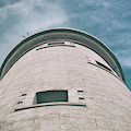 Whitley Bay St Marys Lighthouse Vintage by Scott Lyons