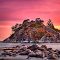Whytecliff Island by Jacqui Boonstra