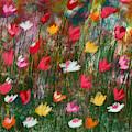 Wildest Flowers 3- Art By Linda Woods by Linda Woods