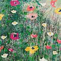 Wildflowers- Art By Linda Woods by Linda Woods