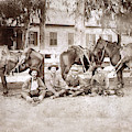 William Hatton   Hunting Party  Carmel Valley August 22, 1886 by California Views Archives Mr Pat Hathaway Archives