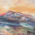 William Turner Mount Rigi Watercolor Study by Irina Sztukowski