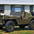 Willys Army Jeep 20899516 At Fort Miles by Bill Swartwout Fine Art Photography