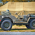 Willys Jeep U S A 20899516 At Fort Miles by Bill Swartwout Photography