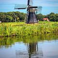 Windmill In The Morning by Debra and Dave Vanderlaan