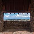Window View - Ccc Lookout- Cedar Breaks - Utah by Debra Martz