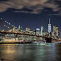 Windy Night Across The East River  by Harriet Feagin