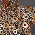 Wing Nut Brass Manekin  by Kasey Jones