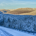 Winter Drive Highland Scenic Highway by Thomas R Fletcher
