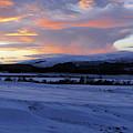 Winter Dusk - Advie by Phil Banks