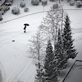 Winter Footprints No. 5 by Juan Contreras