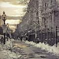 Winter In Back Bay Boston by Joann Vitali