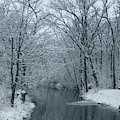 Winter Landscape In Wisconsin by Kay Novy