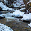 Winter Mountain Creek by Michael Chatt