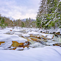 Winter On The Swift River. by Jeff Sinon
