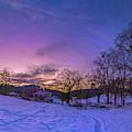 Winter Panorama by Jonathan Hansen