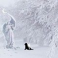 Winter Solstice Holiday Card by Christine Mullis