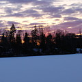 Winter Sunsets by Brittany Galipeau