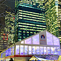 Winter Village At Bryant Park New York City by John Rizzuto