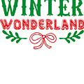 Winter Wonderland Christmas Secret Santa Snowing On Christmas by Cameron Fulton