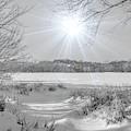 Winter Wonderland At Purgatory Creek by Susan Rydberg