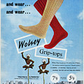 Wolsey Grip-top Socks by Picture Post