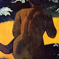 Woman By The Sea 1892 by Gauguin Paul