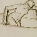 Woman In Tub  by Edgar Degas
