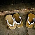 Wood Sandals by Kenneth Dedeu