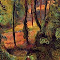 Wooded Path 1884 by Gauguin Paul
