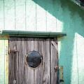 Wooden Grain Door by Bill Posner