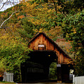 Woodstock Vermont Fall Colors by Jeff Folger