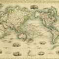 World Antique Map by Nicoolay