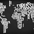 World Map Typo by Zapista Zapista