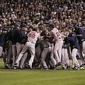 World Series Boston Red Sox V Colorado by Rich Pilling