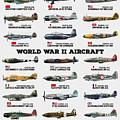 World War II Aircraft by Zapista Zapista