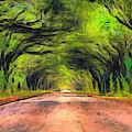 Wormsloe Oak Avenue  by Dan Sproul