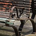 Worn Benches by Jean Noren
