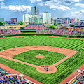 Wrigley Field Chicago Cubs Baseball Ballpark Stadium by Christopher Arndt