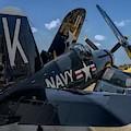 Ww2 F4u Corsair  by John Straton