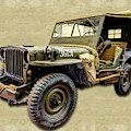 Ww2 Jeep 2 by Weston Westmoreland