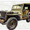 Ww2 Jeep by Weston Westmoreland