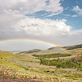 Wyoming Double Rainbow by Sue Smith