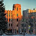Wyoming Union Last Light by Chance Kafka