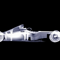 X-ray Of A Toy Formula One Race Car by Nick Veasey