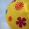 Yellow Balloon Patterns II by Helen Northcott