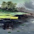 Yellow Boat by Anil Nene